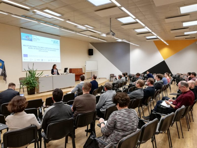 Nano2Day was presented to the academic community of KTU Faculty of Mechanical Engineering and Design